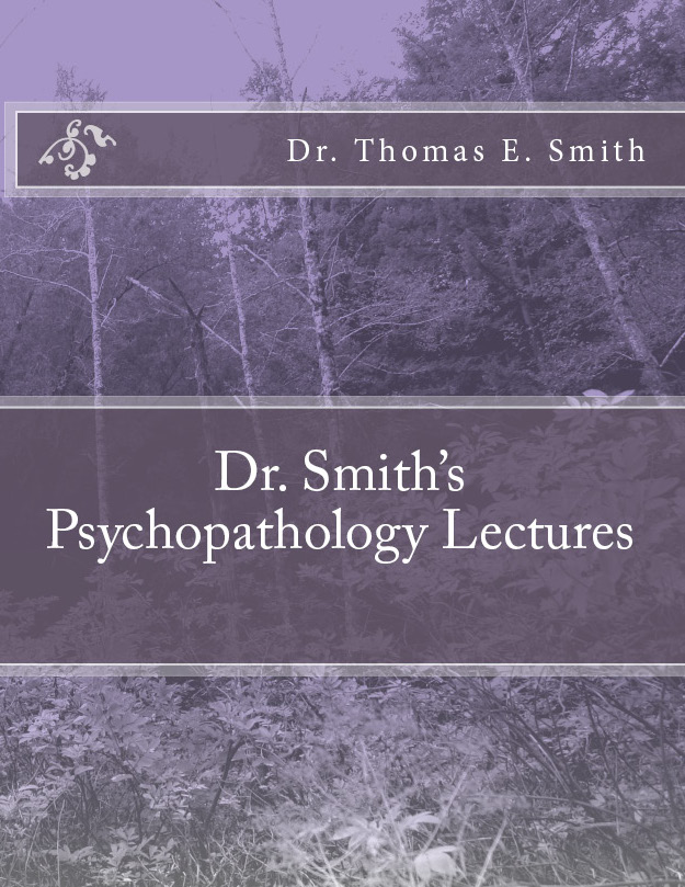 Dr Smith Psychopathology LEctures Cover